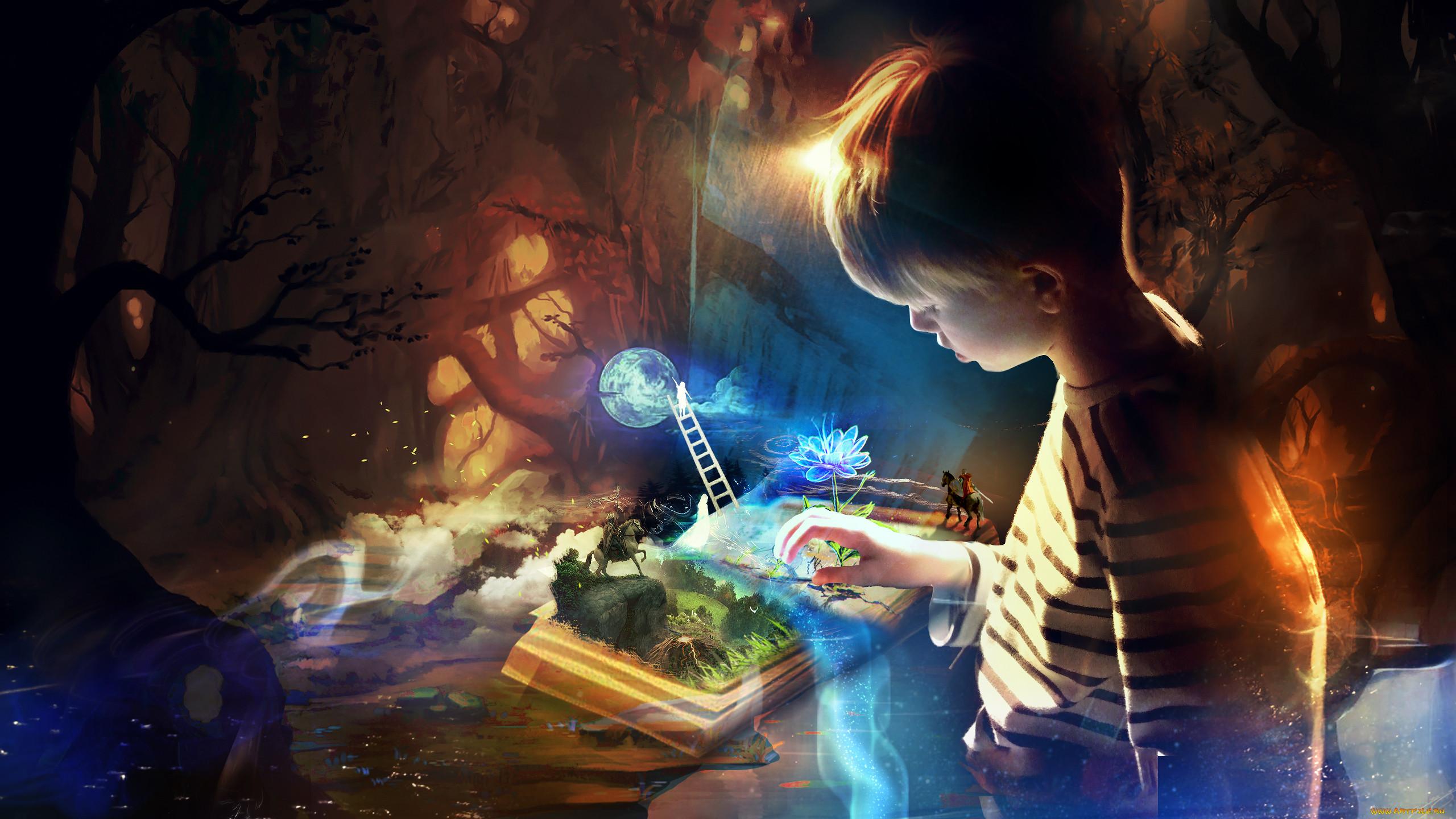 фантастика детям картинки всем известно